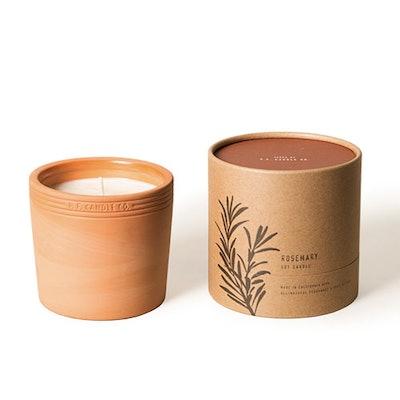 No. 05: Rosemary Terracotta/Botanical Candle