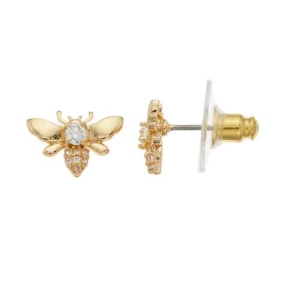 LC Lauren Conrad Flying Bee Nickel Free Stud Earrings