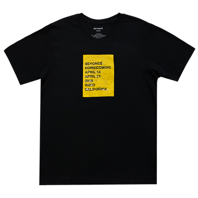 Wheatpaste Performance Dates Black Tee