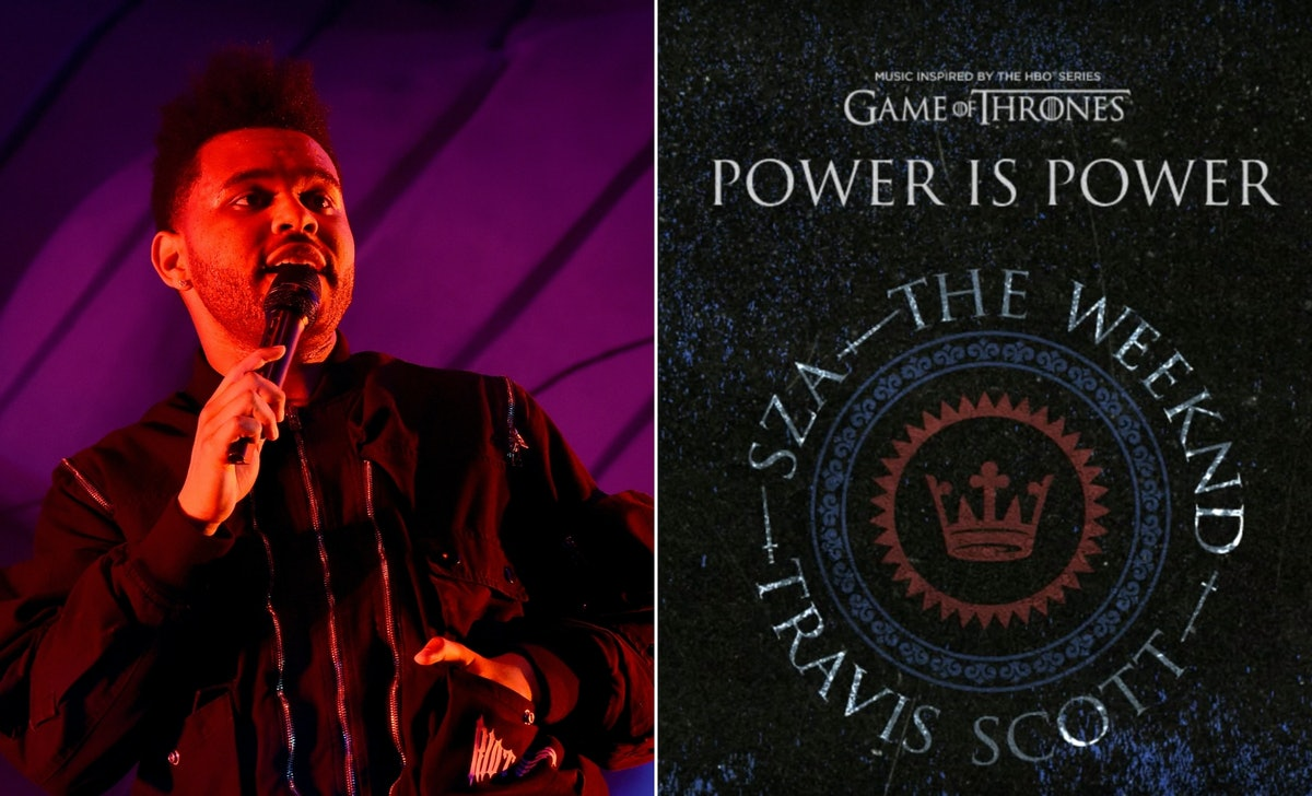 "Listen To The Weeknd, SZA, & Travis Scott's 'Game Of Thrones' Banger ""Power Is Power"""