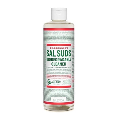 Dr. Bronner's Fair Trade and Organic Sal Suds Liquid Cleaner