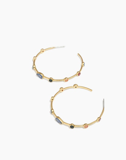 Finespun Hoop Earrings