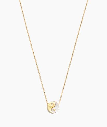 Madewell Yin-Yang Charm Necklace