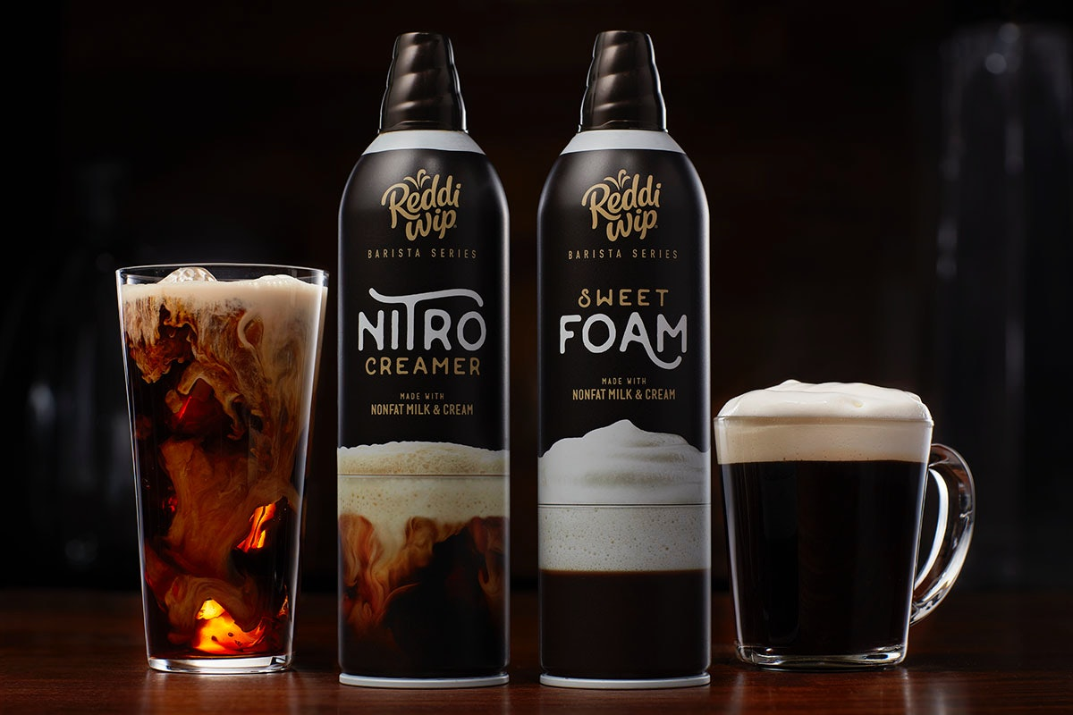 These New Reddi-Wip Barista Sweet Foam & Nitro Creamer Products Will Up Your Coffee Game