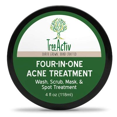 TreeActive Four-In-One Acne Treatment