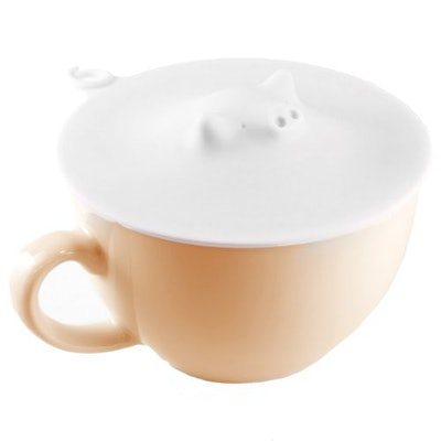 Marna White Piggy Cup Cover