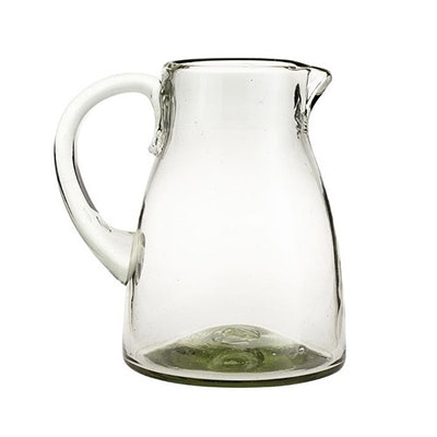 Santino Recycled Glass Pitcher
