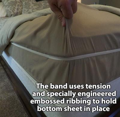 Rubber Tucker Sheet Hugger Band