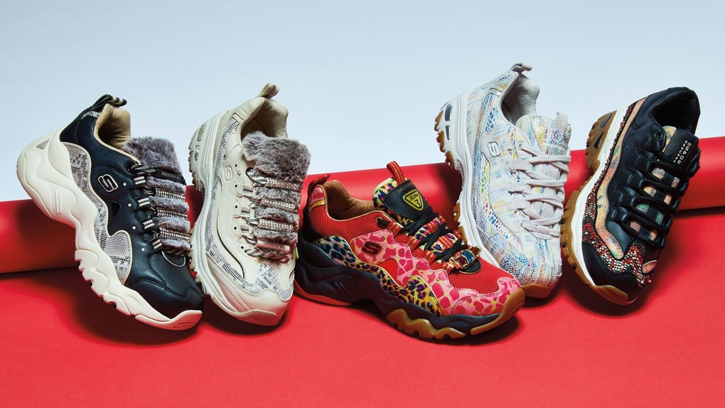 7361f6cfc5a This Summer 2019 Skechers' D'Lites, D'Lites 3.0, & Energy Furry Makeover Is  Making Sneakers Luxe AF