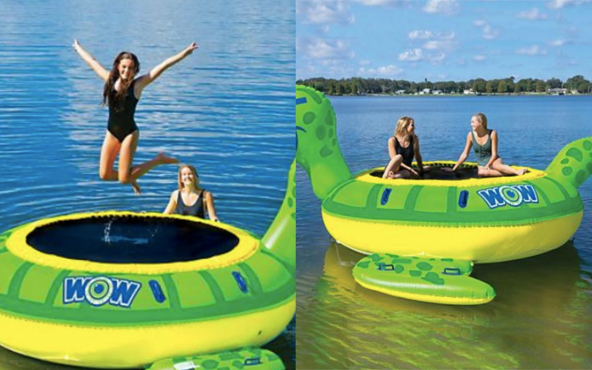 Sam's Club Has Giant Water Trampolines & This Is Going To Be The Best Summer Yet