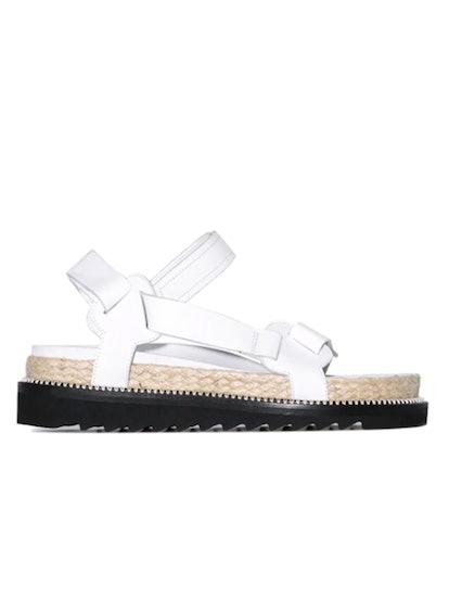 White Espadrille Sandals