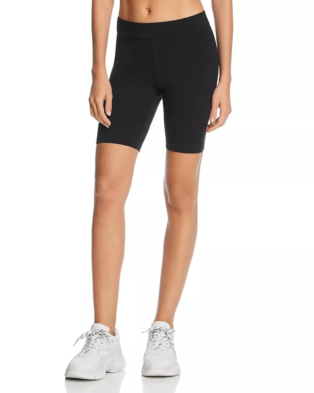 HUE Blackout High-Waist Bike Shorts