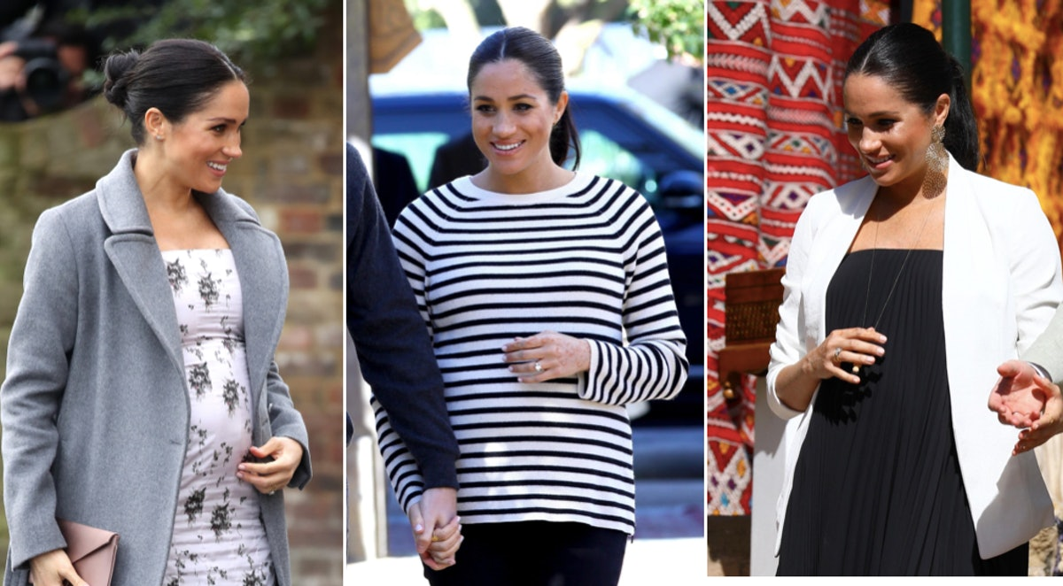 20 Times Meghan Markle's Maternity Style Mixed Comfort With High Fashion & She Looked Absolutely Stunning