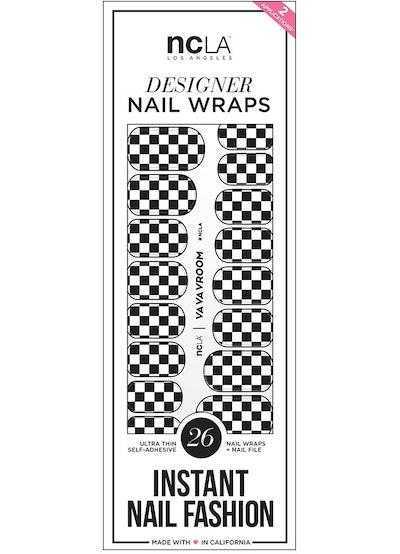 NCLA Nails Va Va Vroom Designer Nail Wraps