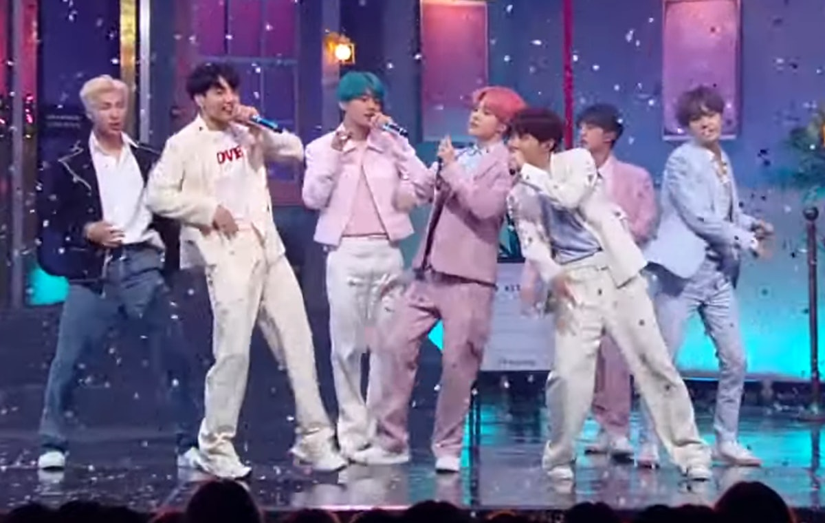 """This Video Of BTS' """"Boy With Luv"""" Performance On 'M Countdown' Is Their Most Epic Yet"""