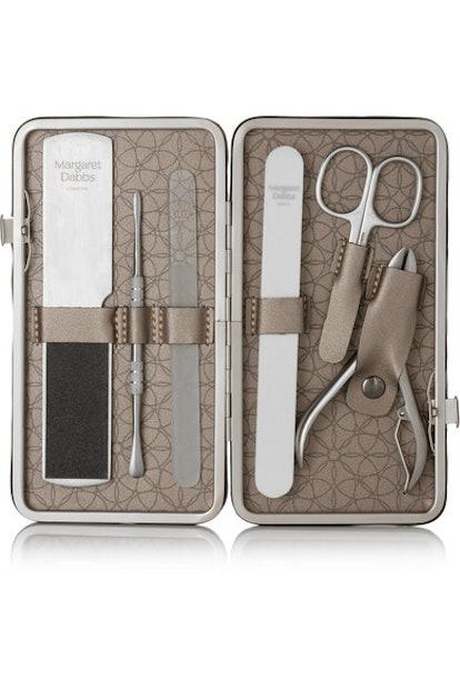 Leather-Bound Manicure & Pedicure Set
