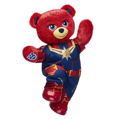 Captain Marvel Bear Gift Set