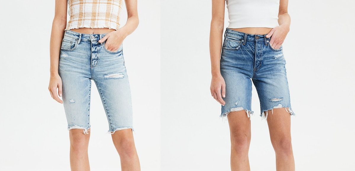 American Eagle Will Sell Bermuda Shorts This Summer Because It's 2002 Again