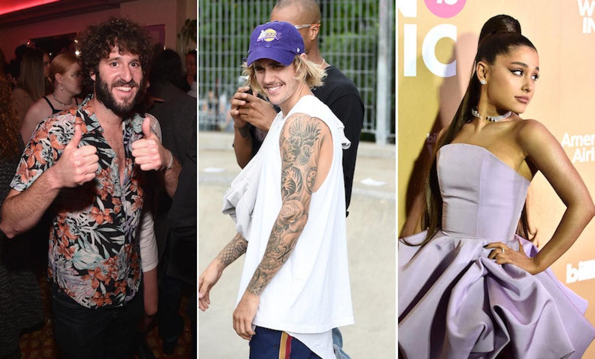 "Lil Dicky's ""Earth"" Music Video Stars Justin Bieber & Ariana Grande As A Baboon & Zebra"