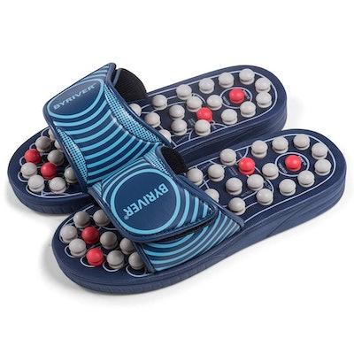 BYRIVER Spring Foot Massage Slippers