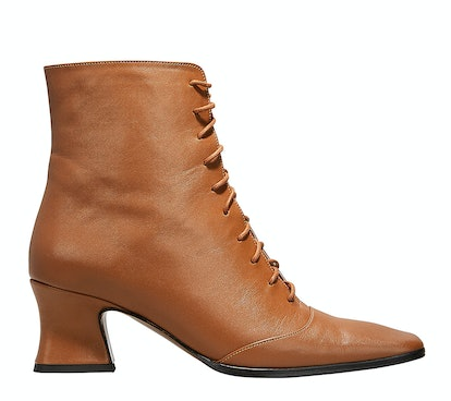 Kate Lace-Up Booties
