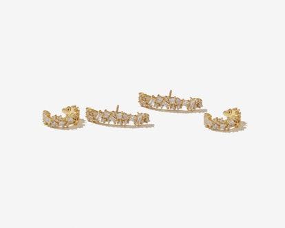 Llyod Gold 925 Silver Ear Cuff Set