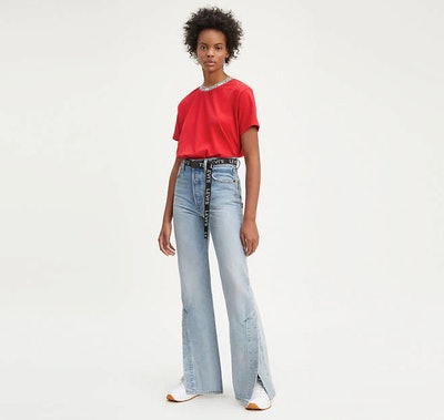 Flare Ribcage Jeans