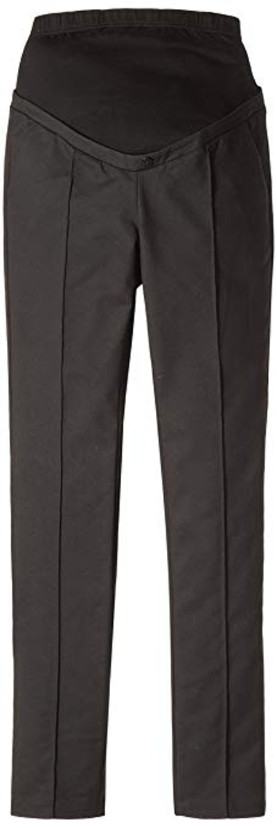 Tailored Black Maternity Trousers