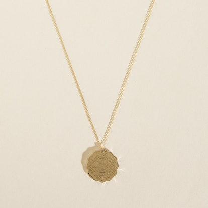 Anna Coin Pendant Neckpiece