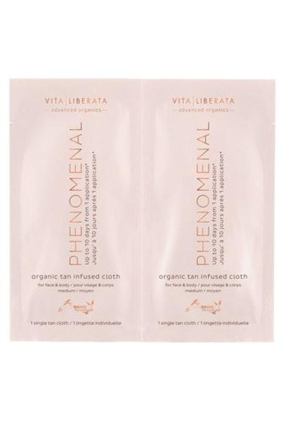 Vita Liberata Phenomenal Organic Tan Infused Cloths
