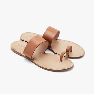 Cuyana x AMANU Studio Style 06 in Tan Leather