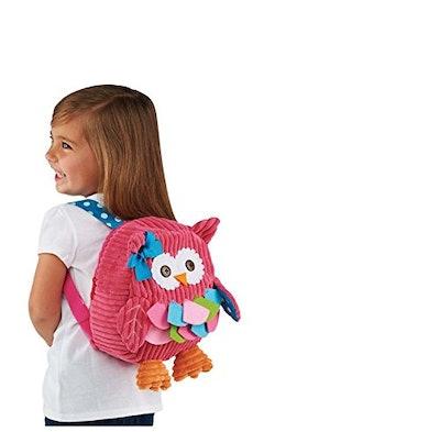 K-JYBA Owl 3D Toddler Backpack