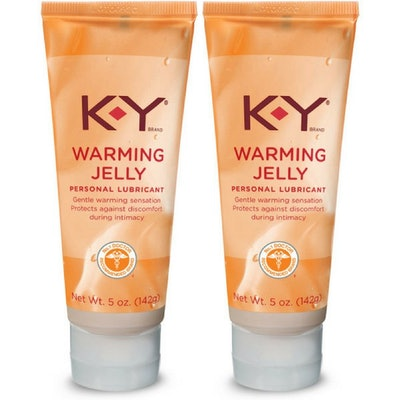 K-Y Warming Jelly Lubricant (Pack of 2)