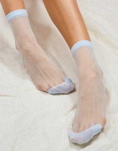 Ciel Opaque Toe Sock