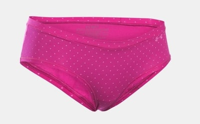 UA Pure Stretch Sheer Hipster (Sizes XS-XL)