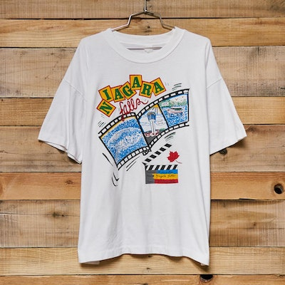 Vintage Niagara Falls Movie Making Tee