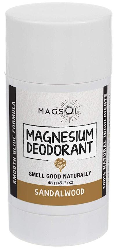 Magsol Sandalwood Magnesium Deodorant