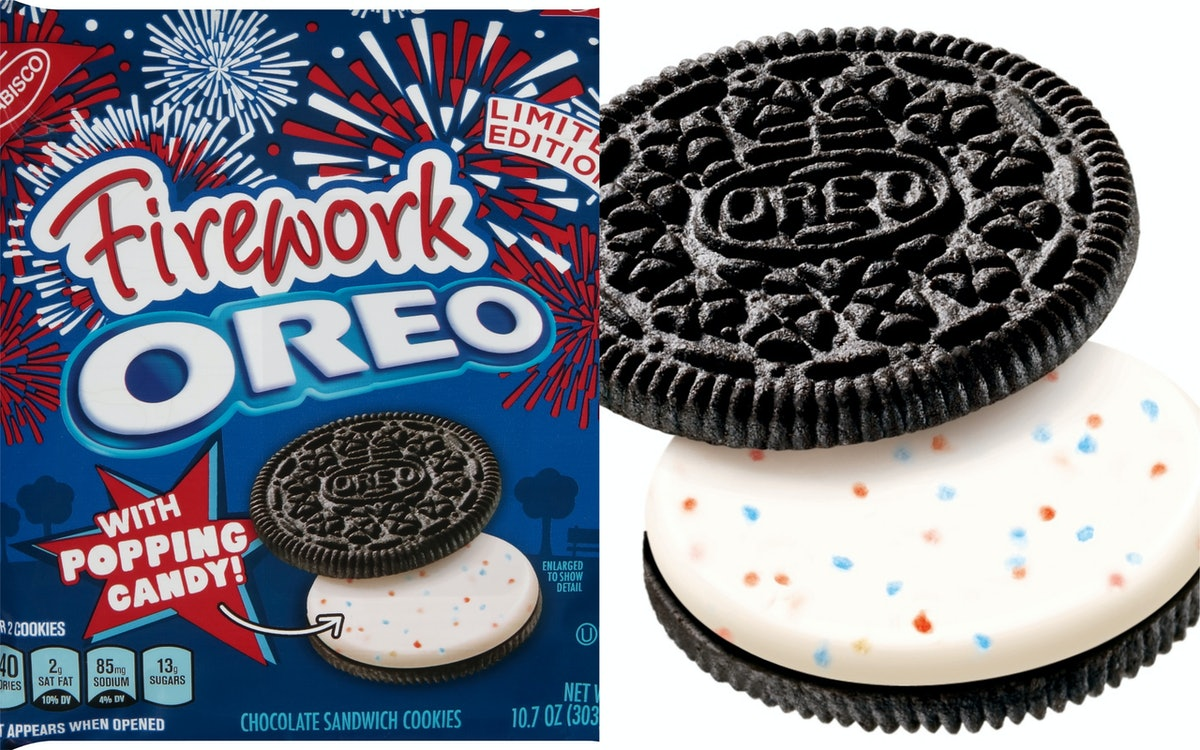 Fireworks Oreos Are Reportedly Returning In 2019, Popping Candy Included