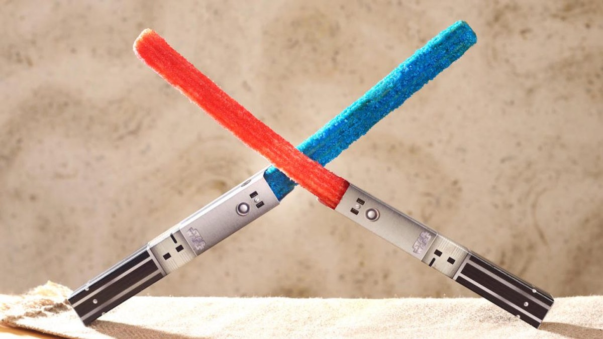 Disney's Lightsaber Churros At Hollywood Studios Are Coming Back, So Rejoice