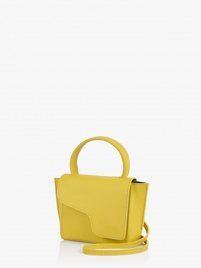 Montalcino Canary Yellow Mini Handbag