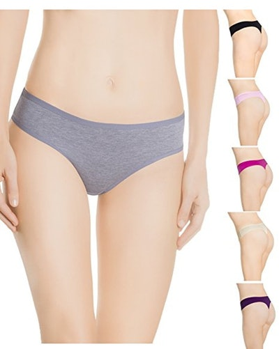 Nabtos Cotton Thongs (6 Pack) (Sizes S-L)