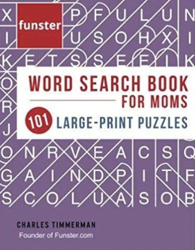Word Search Book For Moms