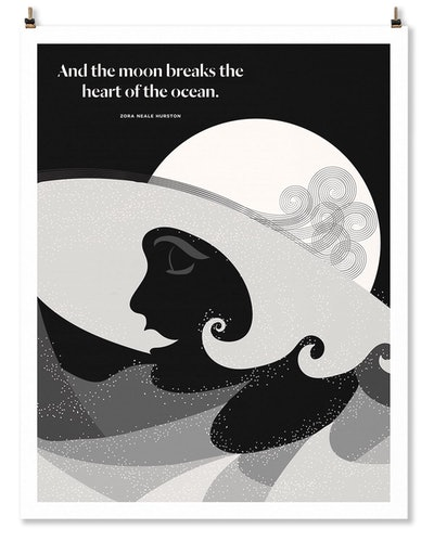 Zora Neale Hurston Print