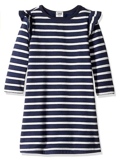 LOOK by Crewcuts Girls' Fleece Dress