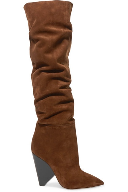 Niki Suede Over-The-Knee Boots