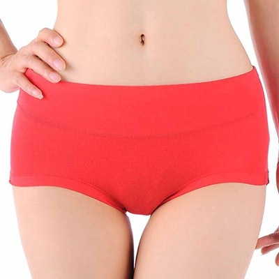 Hoerev Comfort Middle Bamboo Fiber Brief (6 Pack) (Sizes S-XL)