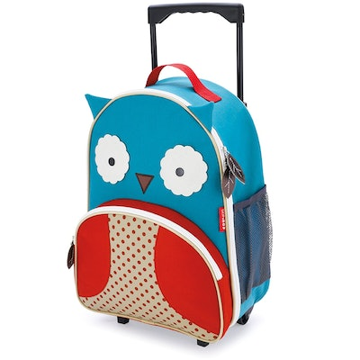 Skip Hop Zoo Little Kid And Toddler Rolling Luggage Backpack