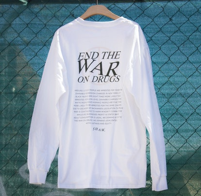 End The War On Drugs Long Sleeve