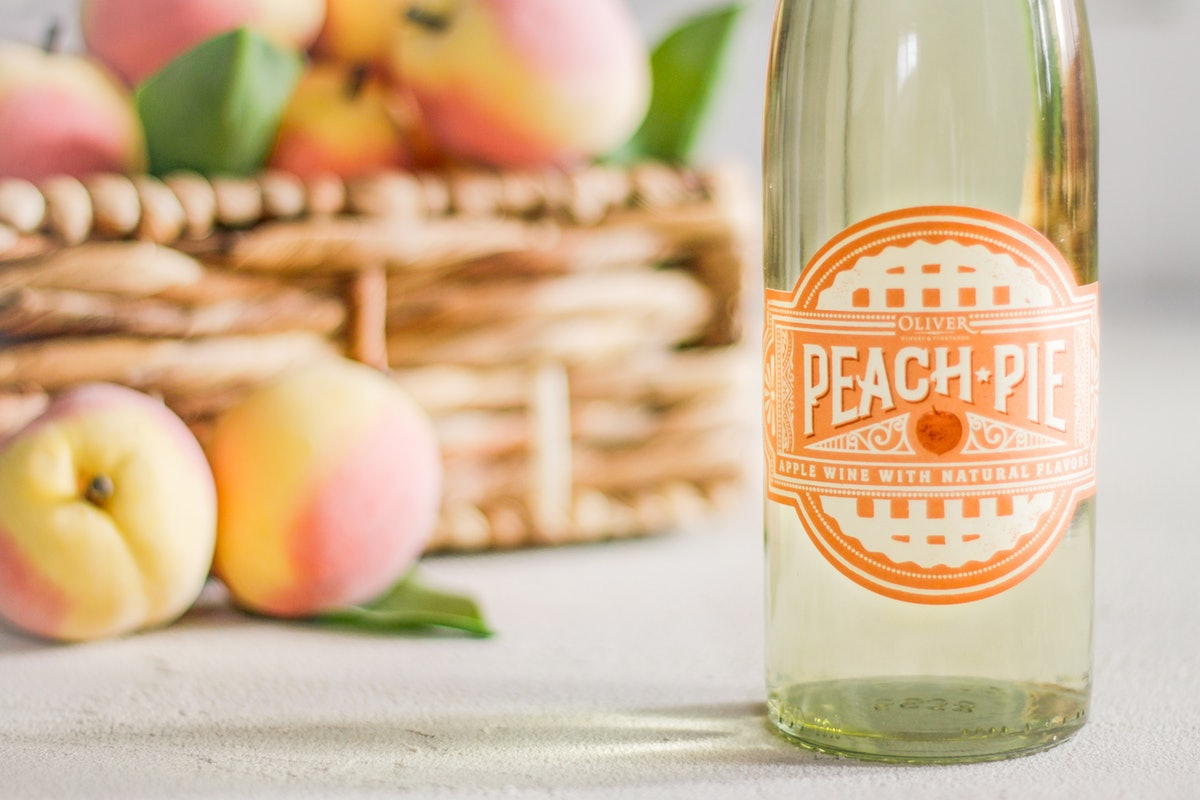 Peach Pie Wine From Oliver Winery Is A Limited Time Offering That Will Make Your Summer