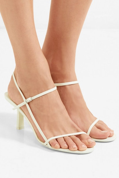 Bare Leather Sandals